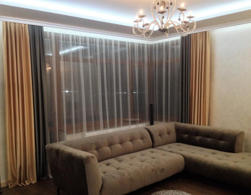 Пентхаус, гостинная комната