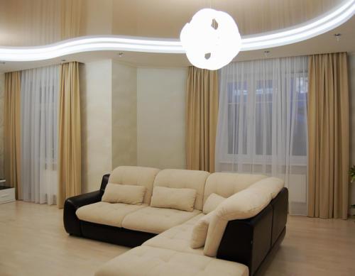 Частный дом, гостинная комната